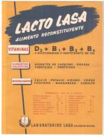 Papel Secante Publicidad Lacto Lasa - España