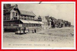 62 - Le TOUQUET - PARIS PLAGE --  Boulevard De La Mer - Le Touquet