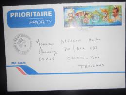 Nouvele Caledonie , Lettre De Mont Dore 2005 Pour Chiang Mai - Nouvelle-Calédonie