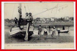62 - Le TOUQUET - PARIS PLAGE -- La Plage à Marée Basse - Le Touquet