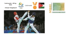 Spain 2016 - Olympic Games Rio 2016 - Gold Medal Taekwondo Male Jordania Cover - Juegos Olímpicos