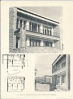 Architecture Ancien Plan D´une Villa à SIX FOURS   ( Architecte S. T. MIKELIAN à SANARY SUR MER ) - Architecture