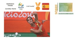 Spain 2016 - Olympic Games Rio 2016 - Gold Medal Badminton Female Spain Cover - Sin Clasificación