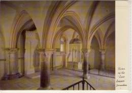 """Israel - JERUSALEM - Room Of The """"Last Supper""""  Used - Israel"""