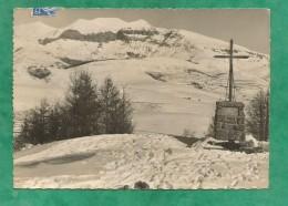 (Guillaumes Péone Beuil) Valberg Le Mont Mounier Vu De La Croix De Sapet 2 Scans 22/02/1954 (06-Alpes-Maritimes) - Andere Gemeenten