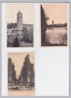Orval  3 Cp Ruïnes De L'Abbaye D'Orval,étang Noir,  Clocher - Belgique