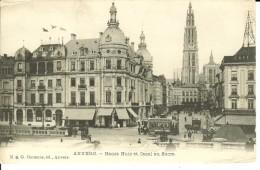 CPA ANVERS, Hansa Huia Et Canal Au Sucre 13065 - Antwerpen