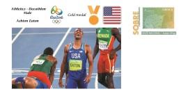 Spain 2016 - Olympic Games Rio 2016 - Gold Medal Athletics Decathlon Male USA Cover - Juegos Olímpicos