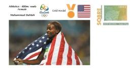 Spain 2016 - Olympic Games Rio 2016 - Gold Medal Athletics 400m. Vauls Female USA Cover - Juegos Olímpicos
