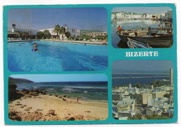 Tunisie--BIZERTE--Bizerte Et L´hotel El Kébir -Multivues-- éd Tanit --timbre - Tunesië