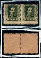 83223) Spagna-1922-alfonso XIII.-n.272---2c-nuovi-cat.5 Euro - Nuovi