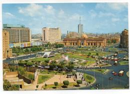 Egypte--LE CAIRE--Place El Tahir  Cpm éd Lenhert & Landrock --timbre - Le Caire