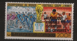 Comores - Poste Aérienne N°Yv. 159 - Football World Cup - Neuf Luxe ** - MNH - Postfrisch - World Cup
