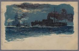 Torpedobootjager  Und Panzerschiff  Uber 1898y.  C984 - Warships