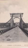G , Cp , 52 , LANGRES , Le Pont Suspendu - Langres