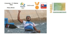 Spain 2016 - Olympic Games Rio 2016 - Gold Medal Canoeing Male Slovakia Cover - Juegos Olímpicos
