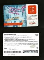 19 Ricarica Wind - Super Noi Tutti Da 10 Euro Scad. 30 06 2015 - Schede GSM, Prepagate & Ricariche
