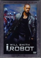 "D-V-D    "" I-ROBOT    ""   EDITION  COLLECTOR  2 DVD  WILL SMITH - Sciencefiction En Fantasy"