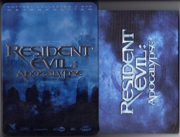 "D-V-D BOITIER METAL   "" RESIDENT EVIL-APOCALYPSE   ""  EDITION  COLLECTOR  2 DVD  AVEC LIVRET - Sci-Fi, Fantasy"