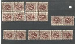 België Preo Rolstempels Lier - Roulettes 1920-29