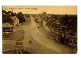 17813   -   Waerschoot   -   Panorama   -   Dorpplaats En Kerkstraat - Waarschoot