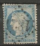 France - Obl. GC1821 ILLIERS Sur Timbre Napoleon III Et/ou Cérès - N°60 - Marcofilie (losse Zegels)