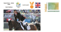 Spain 2016 - Olympic Games Rio 2016 - Gold Medal Equestrian Male Great Britain Cover - Juegos Olímpicos