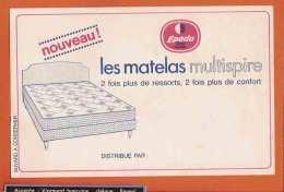 BUVARD / BLOTTER / Les Matelas Multispire EPEDA - Buvards, Protège-cahiers Illustrés
