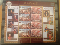 Man / Isle Of Man - Postfris/MNH - Complete Sheet Battle Of Waterloo 2015 - Man (Ile De)