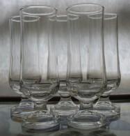 319/204   N. 5 BICCHIERI CALICE CRISTALLO OCCASIONE - Bicchieri