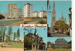 Nantes.. Doulon.. Belle Multi-vues Cité Marin-Poirier Cité Des Agenets Mairie De Doulon Grand-Blottereau - Nantes
