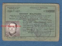 Brevet Militaire Permis Conduire - Lucien MAHONDEAUX , Brigadier à Chalons Sur Marne - Dépot De Cavalerie 26 - 1940 Ww2 - Historical Documents