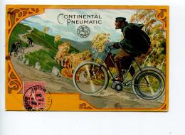 Cyclisme Publicité  Continental Pneumatic - Reclame
