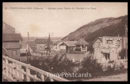 Vierville-sur-Mer (Calvados) - Quelques Petits Chalets De L'Arrivee A La Plage - Villerville