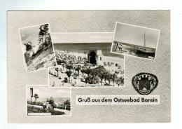 12423 Cpm    HERINGSDORF  / Grus Aus Dem Ostseebad BANSIN  , Carte Photo Multivues 1964 - Allemagne