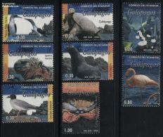 Ecuador 2006 Galapagos Fauna 8v, (Mint NH), Turtles - Birds - Sea Mammals - Fish - Nature - Ecuador