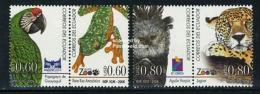 Ecuador 2006 Animals, Quito Zoo 2x2v [:], (Mint NH), Nature - Animals (others & Mixed) - Frogs & Toads - Owls - R.. - Ecuador