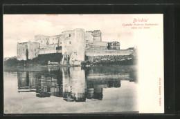 Cartolina Brindisi, Castello Federico Barbarossa, Visto Dal Mare - Brindisi