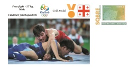 Spain 2016 - Olympic Games Rio 2016 - Gold Medal Free Fight Male Georgia Cover - Juegos Olímpicos
