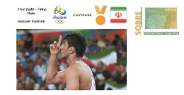 Spain 2016 - Olympic Games Rio 2016 - Gold Medal Free Fight Male Iran Cover - Juegos Olímpicos