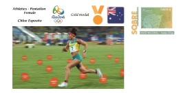 Spain 2016 - Olympic Games Rio 2016 - Gold Medal Athletics Pentatlon Female Australia Cover - Juegos Olímpicos
