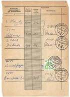 GERMANIA - GERMANY - Deutschland - ALLEMAGNE - BUNDESPOST - 1978 - 1984 - 8 Pagine Di Registro Postale Con Francoboll... - [7] Repubblica Federale