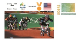 Spain 2016 - Olympic Games Rio 2016 - Gold Medal Cycling Bmx Male USA Cover - Juegos Olímpicos