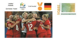 Spain 2016 - Olympic Games Rio 2016 - Gold Medal Football Female Germany Cover - Juegos Olímpicos