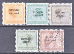 RUANDA  URUNDI  6+   *  (o) - Ruanda-Urundi