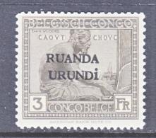 RUANDA  URUNDI  21   * - Ruanda-Urundi