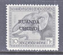 RUANDA  URUNDI  23   *   ELEPHANT - Ruanda-Urundi