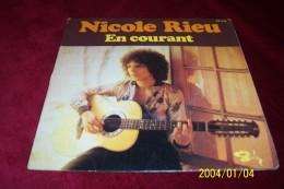 NICOLE RIEU  ° EN COURANT - Autographes