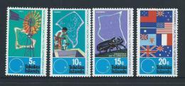 Tokelau 1972 South Pacific Commission Set 4 MNH - Tokelau