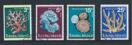 Tokelau 1973 Coral Set 4 FU - Tokelau